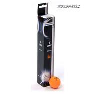 Мяч для настольного тенниса DONIC T-ONE, оранжевый (6 шт), фото 1