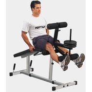 Домашняя скамья для тренировки мышц ног - BODY SOLID POWERLINE PLCE65 (PLCE165), свободный вес, фото 1