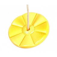 Диск пластиковый для качелей Playgarden (желтый), фото 1